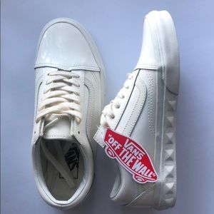VANS White leather / US 6.5